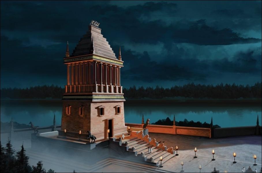 Le mausolée d'Halicarnasse (Turquie) est une des :