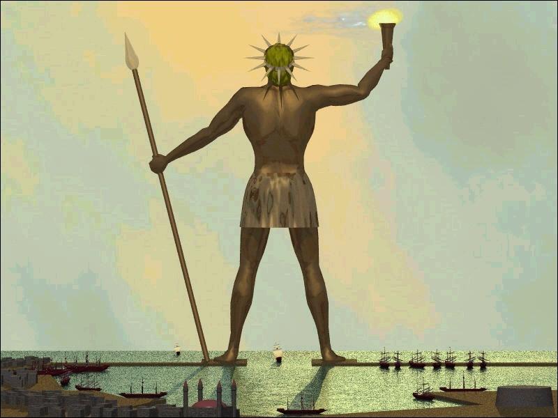 Le colosse de Rhodes (Grèce) est une des :