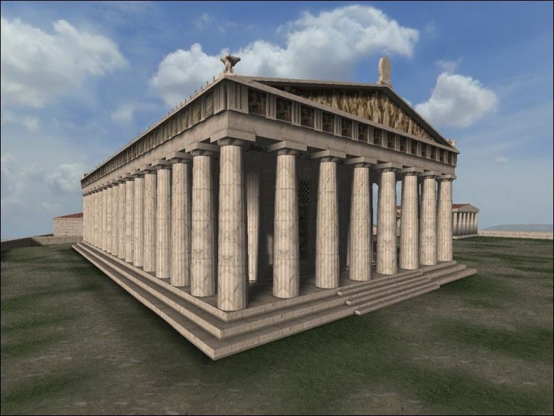 Le Parthénon (Grèce) est une des :