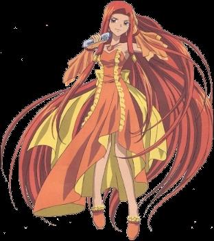 Hanon est amoureuse du professeur Mitsuki mais, lui, l'est de quelqu'un d'autre, de qui ?