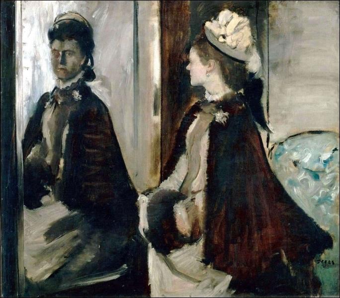Quizz les peintres et les miroirs quiz peintres for Devant le miroir manet