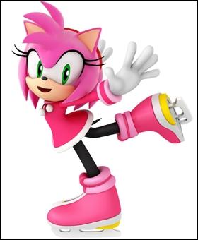 Cette hérissonne rose s'est auto-proclamée petite amie de Sonic, et le suit partout. Elle a pour particularité de pouvoir contrôler un marteau géant, Piko Piko, et de lire l'avenir dans des cartes.
