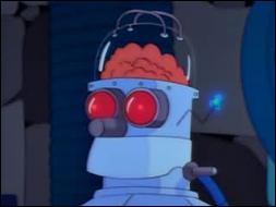 Qui a eu la malencontreuse idée de transplanter le cerveau d'Homer dans la  tête  d'un robot dans un épisode Spécial Halloween ?