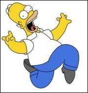 Quelle est l'origine congénitale de la déficience mentale d'Homer ?