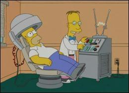Quel est le nom du savant fou qui a eu l'idée saugrenue d'analyser le cerveau d'Homer ?