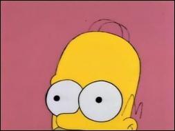 Homer a parfois des démêlés avec son propre cerveau . Dans une réplique culte de la série , il demande à son cerveau de se taire. Laquelle de ces répliques est réellement dite par Homer ?