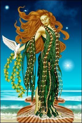 Elle est la déesse de l'amour et de la beauté, elle s'appelle :