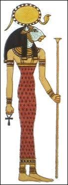 Avant d'être la déesse-vache, j'étais la déesse-lionne (déesse guerrière), qui suis-je ?