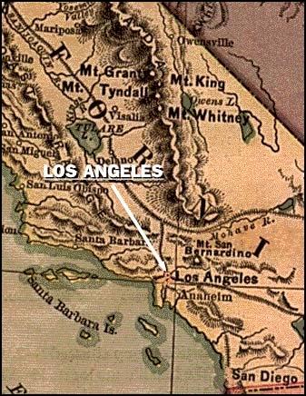Quand Los Angeles a-t-elle été fondée ?