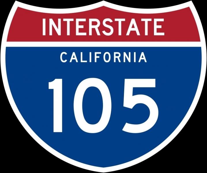Dites ce qui est faux sur «Century Freeway (I-105)».