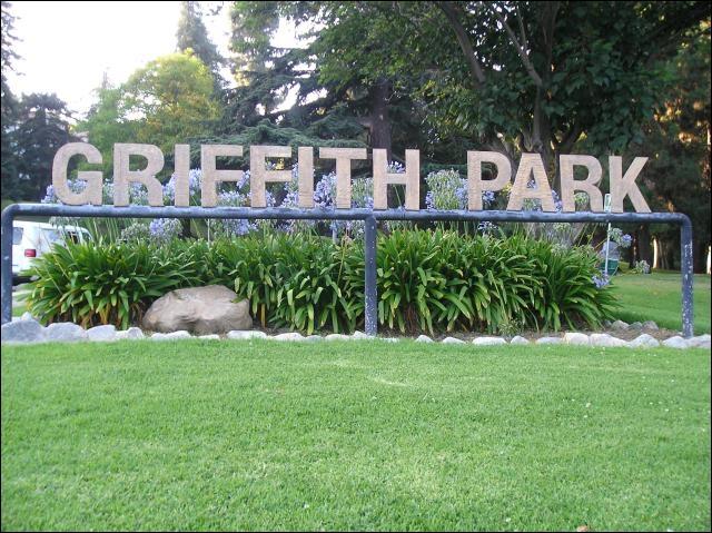 Lequel ne se retrouve pas dans «Griffith Park» ?