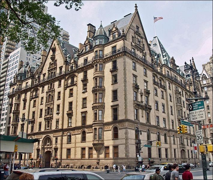 Identifiez ce bâtiment où John Lennon vivait et fut assassiné.
