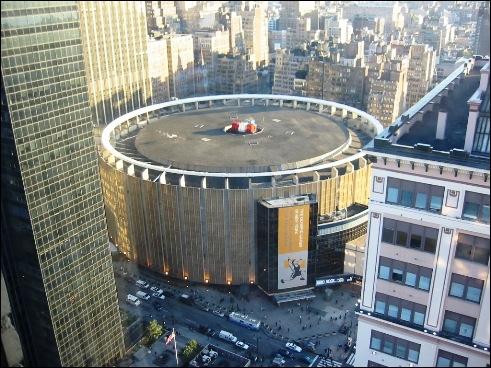 Combien d'étages possède le Madison Square Garden ?