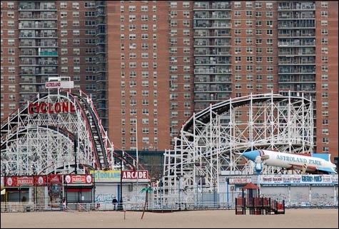 Quelle affirmation sur Coney Island est-elle fausse ?
