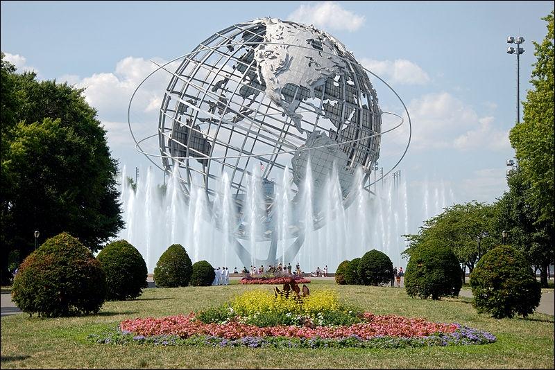 Que ne retrouve-t-on pas dans le parc de Flushing Meadows dans le Queens ?