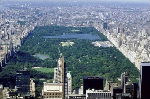 Quelle rue borde Central Park à l'est ?