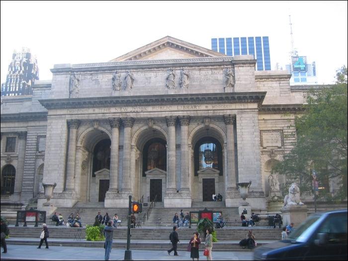 Dans quel parc se situe la New York Public Library ?