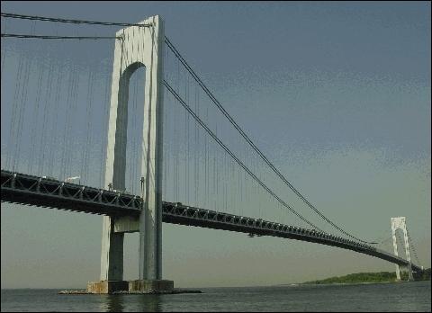Le Verrazano-Narrows Bridge relie quels «Boroughs» de New York ?