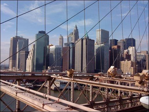 Quel monument n'est pas situé dans «Lower Manhattan» ?