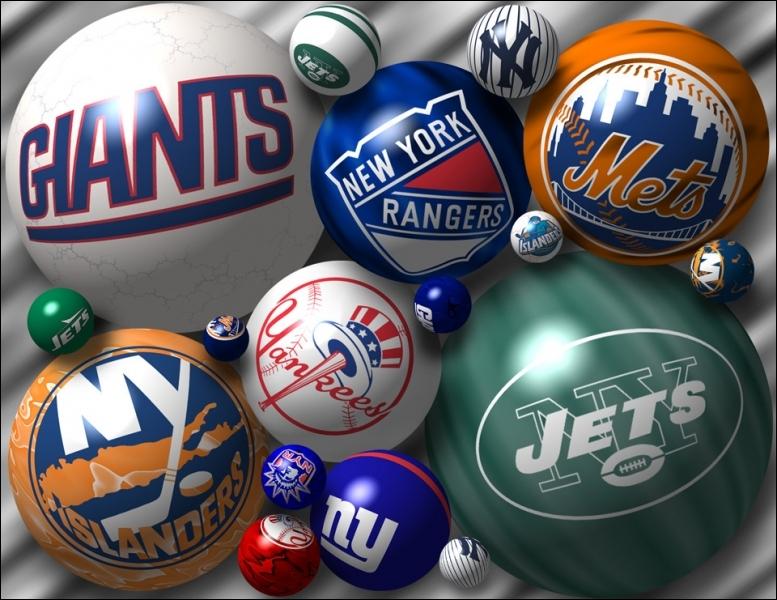 Dans l'agglomération de New York, quelle ligue de sport professionnel compte le plus de franchises ?