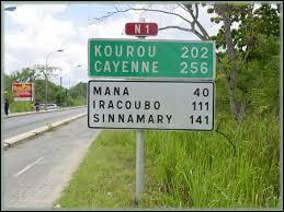 En quelle année la Guyane française a-t-elle obtenu son statut de département d'outre-mer ?