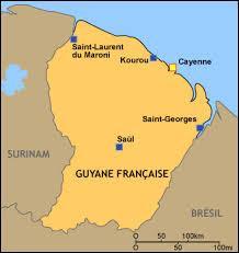 Lequel de ces pays a une superficie proche de celle de la Guyane française ?