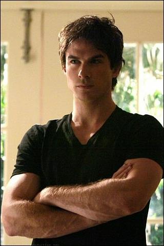 Vampire Diaries : Comment Elena rencontra-elle pour la premiere fois Damon ? (Dont elle s'en souvient --> Saison 1)