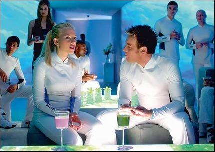 (2005) Pensionnaires d'un complexe fermé et aseptisé, ils rêvent de gagner à « la Loterie » afin d'accéder au dernier espace terrestre ayant échappé à la contamination.