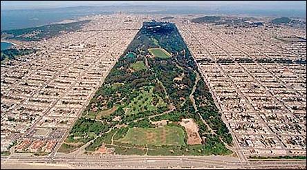 Quel est ce parc dont la superficie dépasse celle du Central Park de New York ?