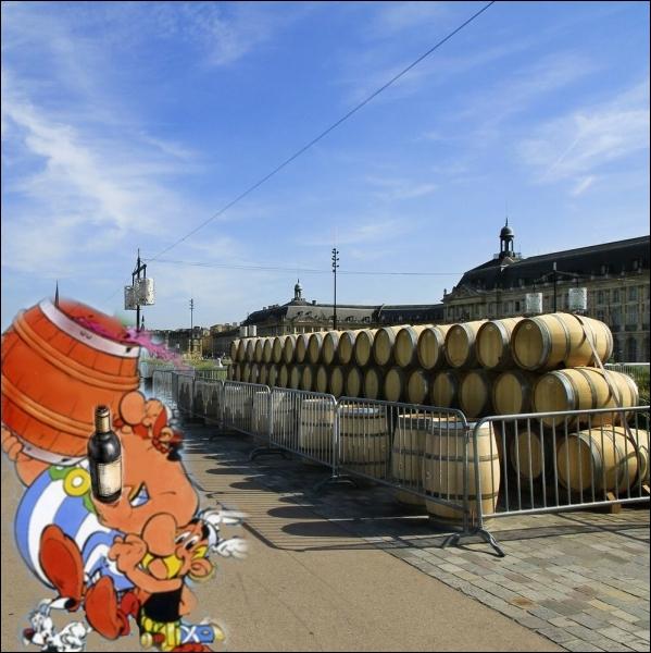 Quelques facéties de nos deux gaulois dans le port de... .