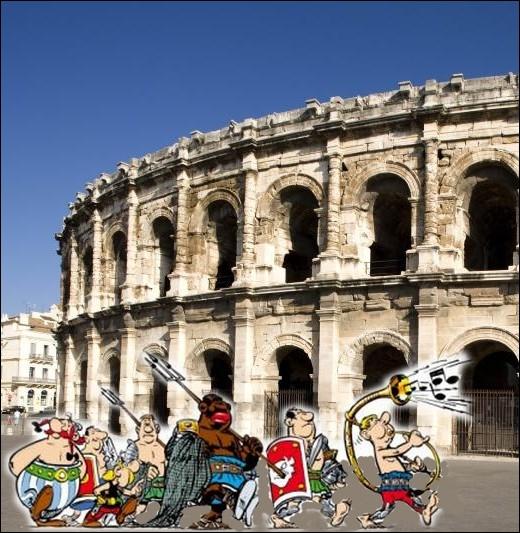 Gladiateurs d'un jour, partant pour le combat à ... .