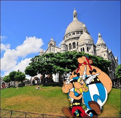 Ce petit Tour de Gaule de nos deux amis commence par une visite sur la célèbre butte Montmartre à ... .