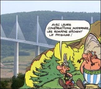 Ils sont �galement en admiration devant ce viaduc culminant � 270 m�tres au-dessus du Tarn � ... .