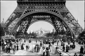 Voyages : la Tour Eiffel a été construite pour l'Exposition universelle de 1889. Combien y a-t-il eu de visiteurs en 2011 ?