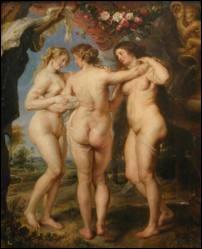 Art : quel peintre baroque flamand a réalisé  Les trois Grâces  en 1639 ?