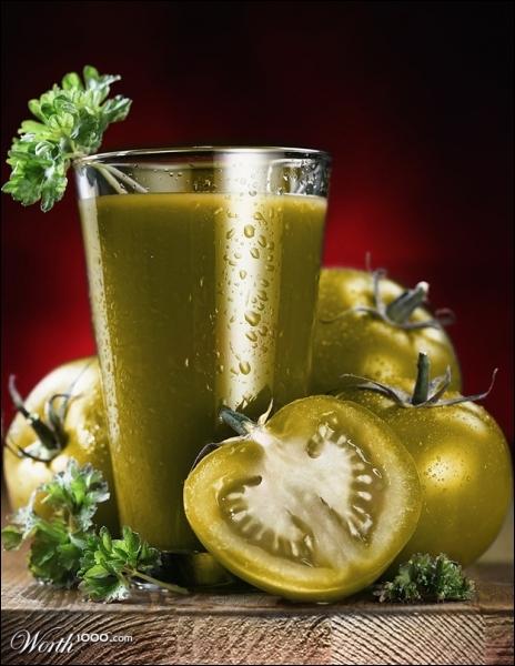 De ces trois solutions, dans laquelle pouvez-vous voir écrit  tomates vertes  ?