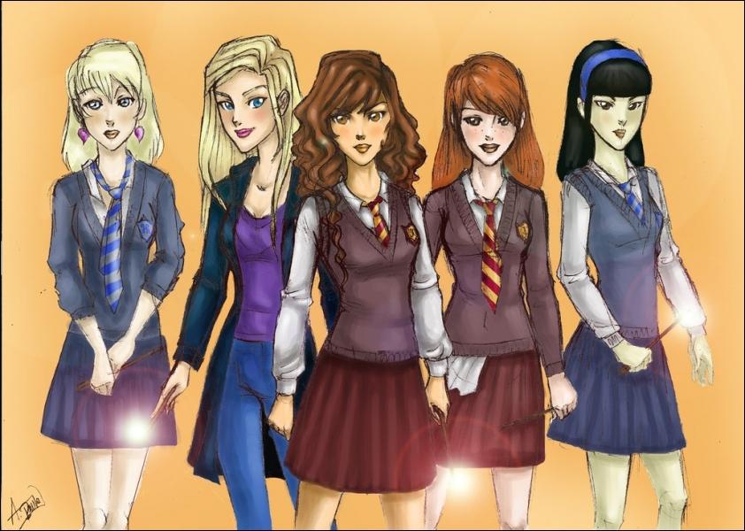Ginny Weasley And Hermione Granger Hermione Granger Ginny