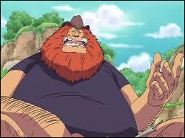 Comment s'appelle le personnage qui a quitté la marine et qui s'est fait congeler par Aokiji pendant la destruction de l'île ?