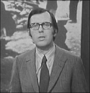 Qui est ce journaliste, présentateur du journal télévisé   Vingt-quatre heures d'actualité   en 1966 ?