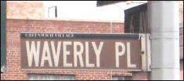 Dans quelle ville se trouve Waverly place ?