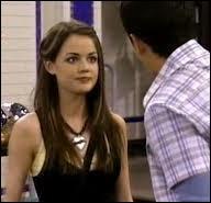 Quelle est la première fille, de style gothique, que Justin a embrassée ?