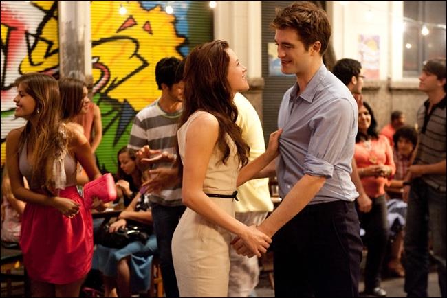 Quels sont les derniers mots des voeux d'Edward et de Bella ?