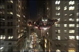Quelle ville Iron Man survole-t-il ?