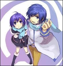 Quel nom porte la version fille de Kaito ? (elle est à gauche)