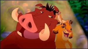 Qui accompagne Timon et Pumbaa ?