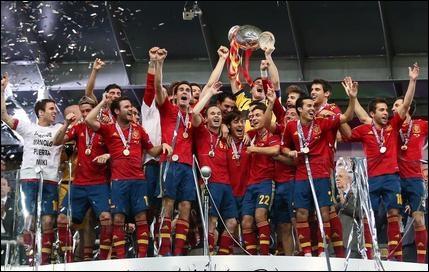 Quelle équipe a gagné l'Euro 2012 ?