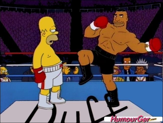 Comment s'appelle ce champion poids lourd qui va massacrer Homer ?