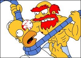 Qui étrangle Homer ?