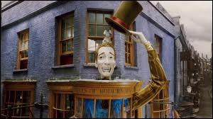 Comment s'appelle le magasin de Fred et Georges Weasley ?