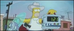 Homer décide cependant de retourner à Springfield afin de sauver ses habitants d'une terrible menace. Quelle solution radicale a été décidée par le président ?